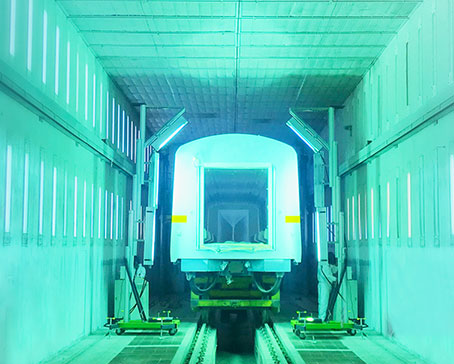 高铁、地铁、汽车漆面快速翻新及修补