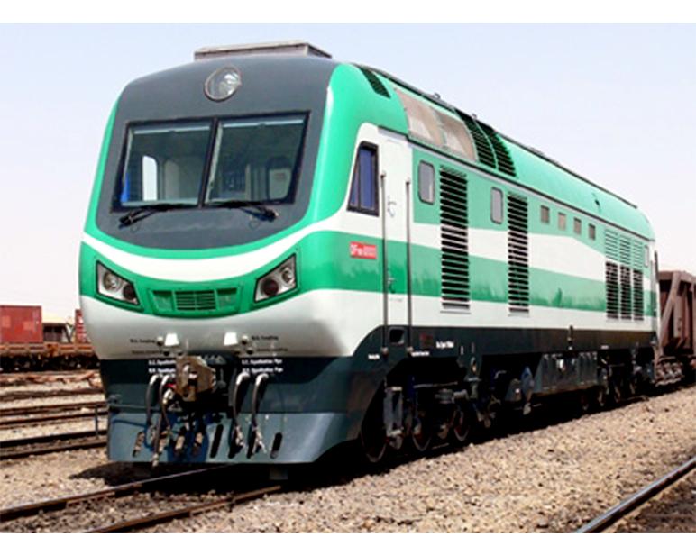 DF8BI型 伊朗内燃机车