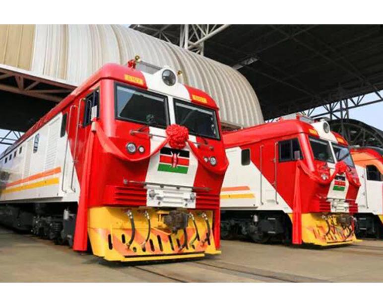 肯尼亚机车车头